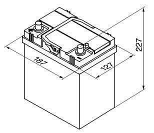 Размер аккумулятора Матиз